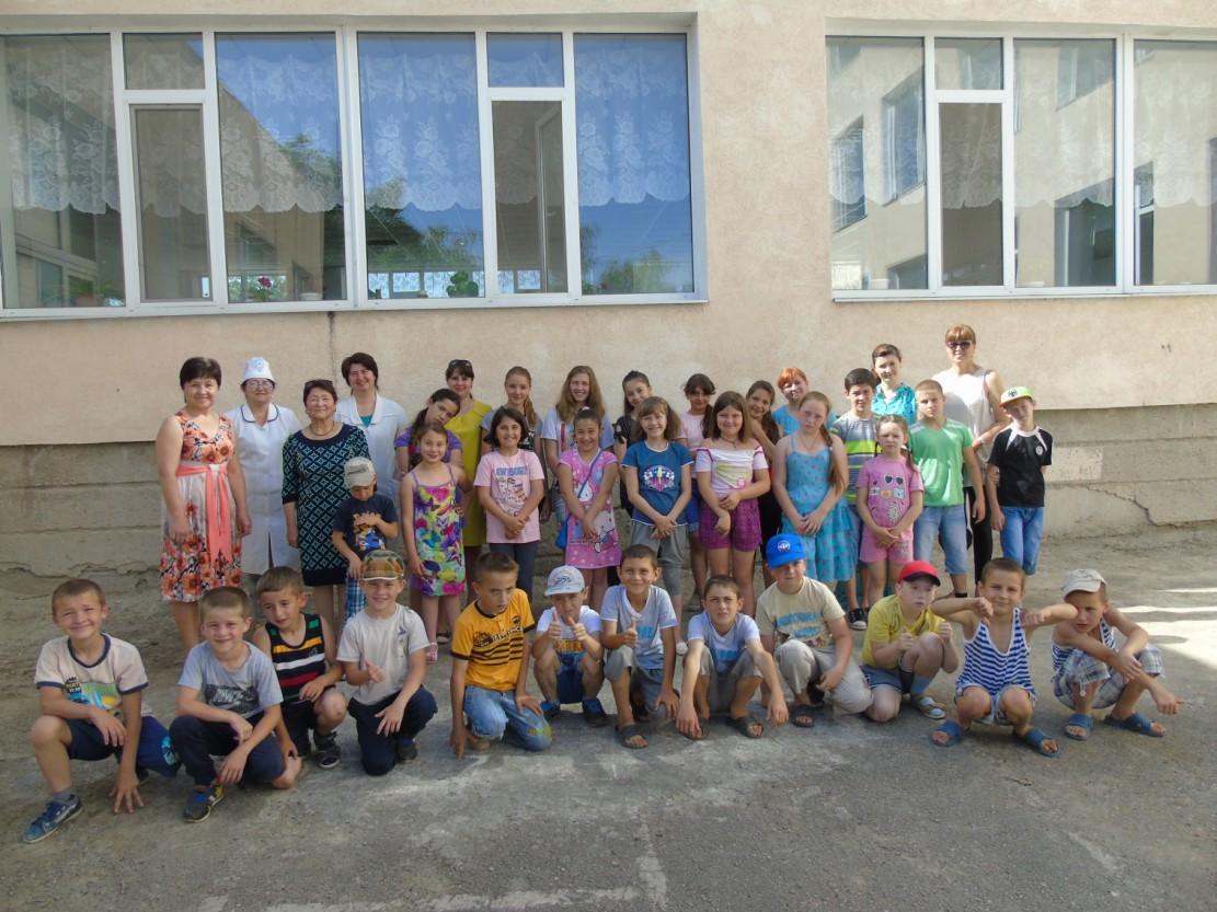 дети Грушевка лагерь
