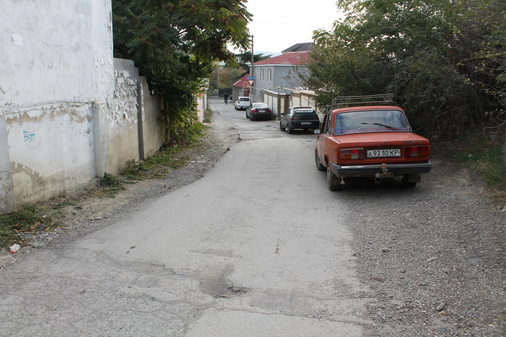 улица Князева (до ремонта)